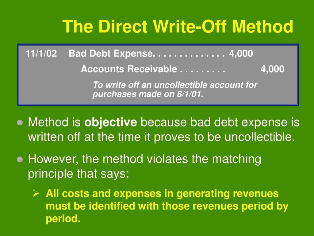 11/1/02Bad Debt Expense. . . . . . . . . . . . . .4,000