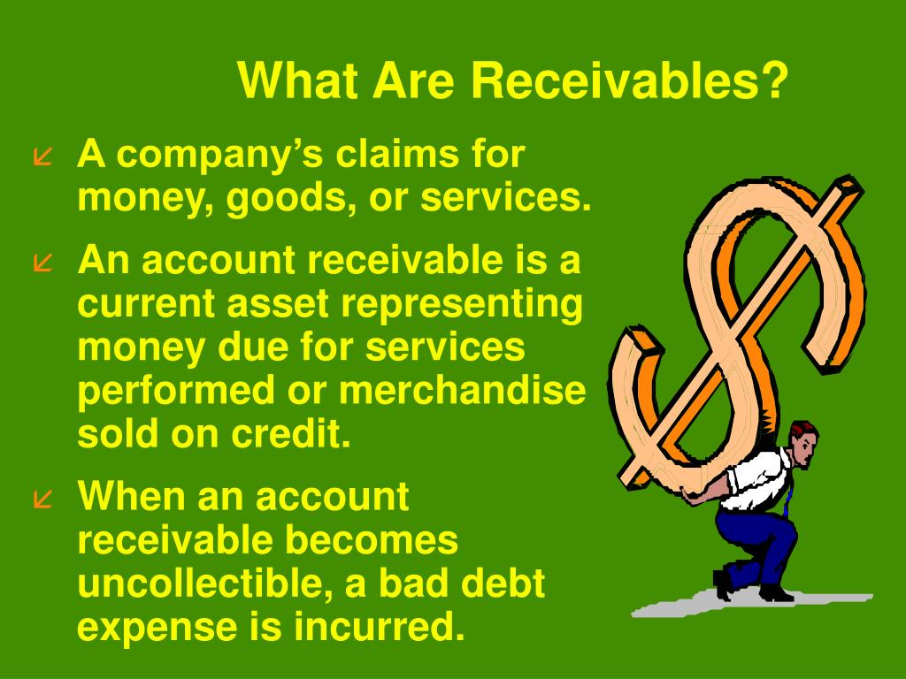 What Are Receivables?
