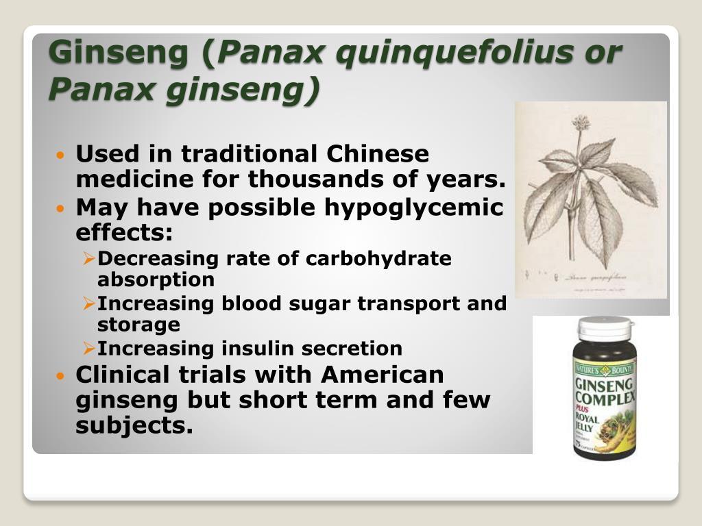 Ginseng (