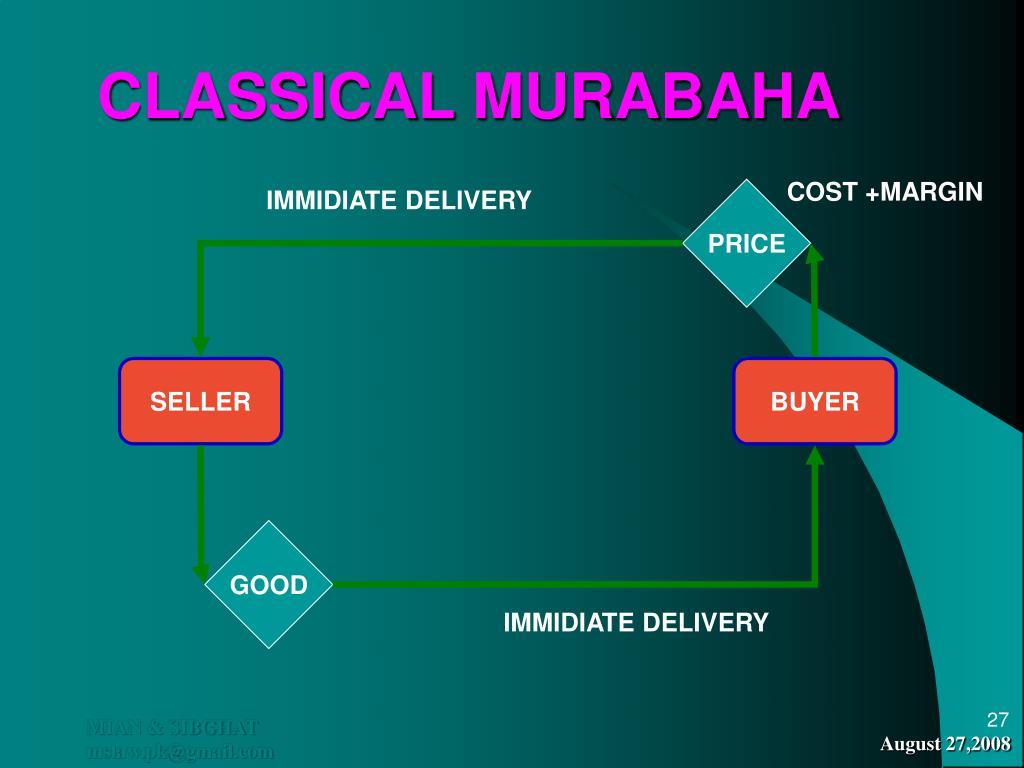 CLASSICAL MURABAHA