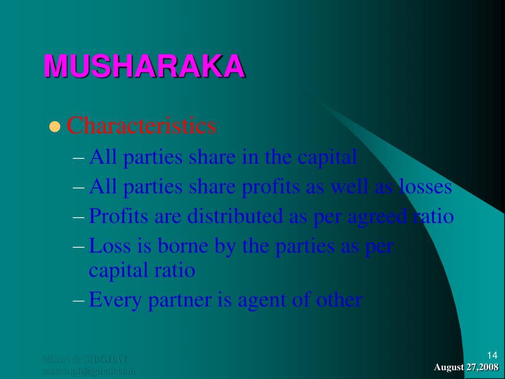 MUSHARAKA