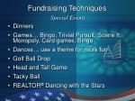 fundraising techniques special events6