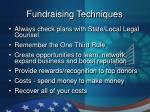 fundraising techniques16