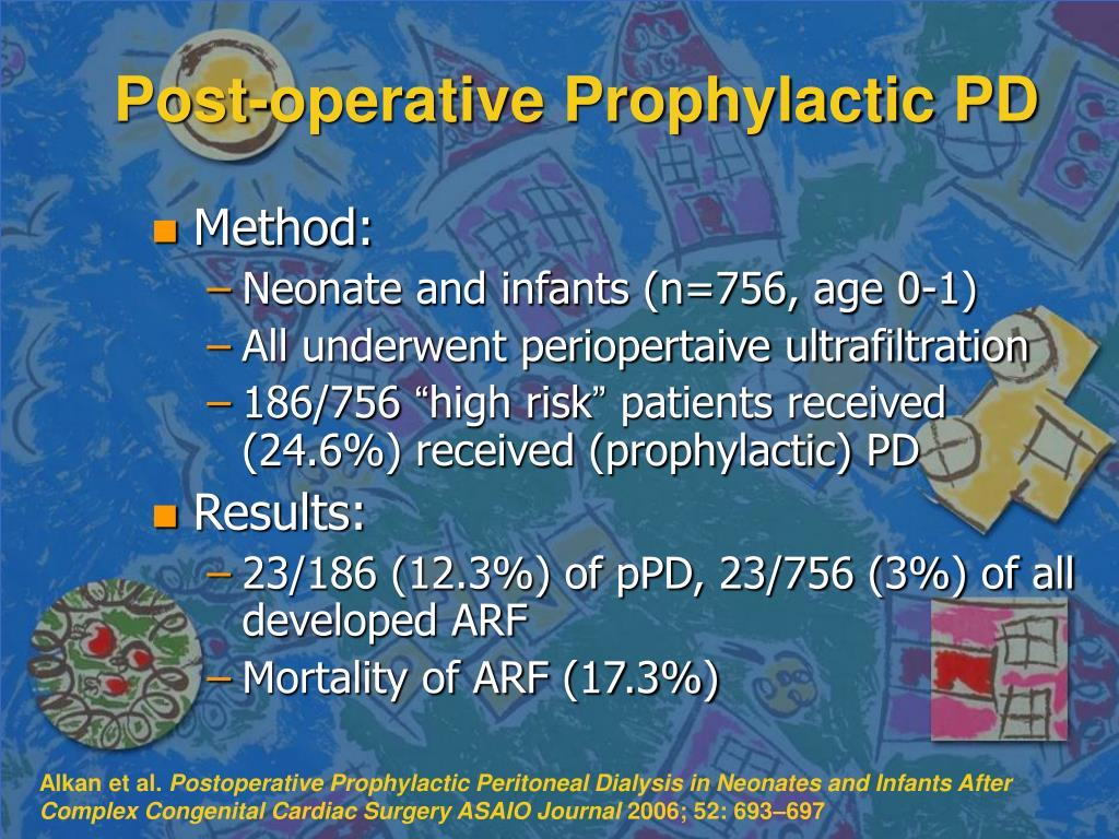 Post-operative Prophylactic PD