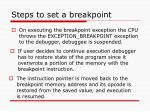 steps to set a breakpoint29