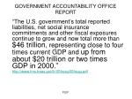 government accountability office report