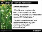 md strategic plan for agriculture19