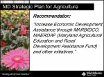 md strategic plan for agriculture2