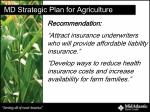 md strategic plan for agriculture29