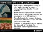 midatlantic farm credit start right