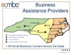 business assistance providers