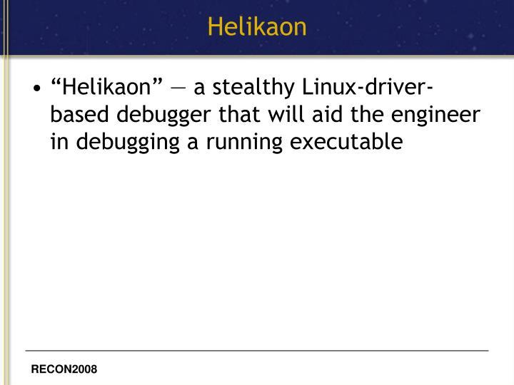 Helikaon