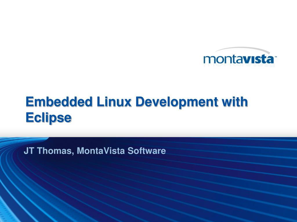 Embedded Linux Development with Eclipse