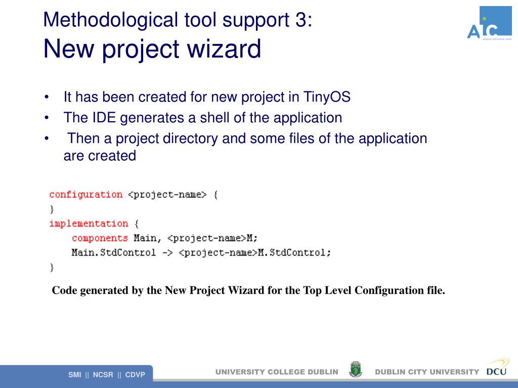 Methodological tool support 3: