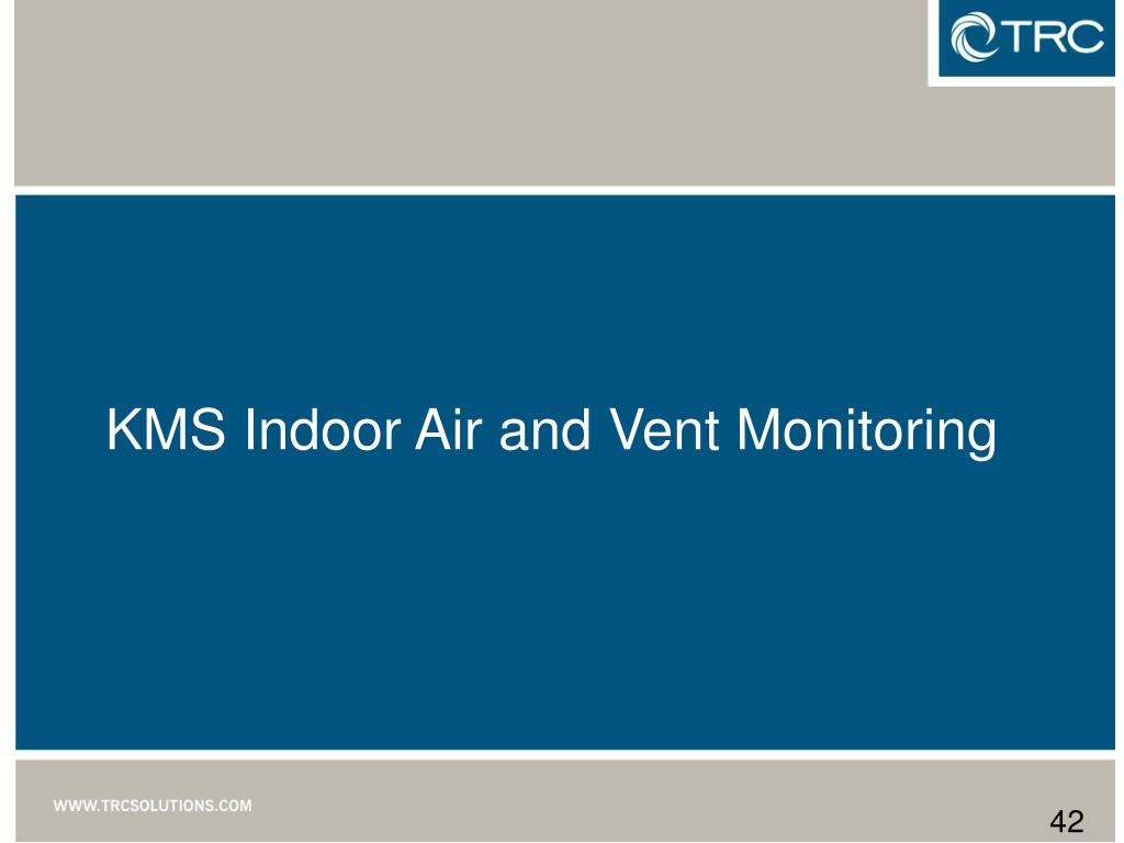KMS Indoor Air and Vent Monitoring