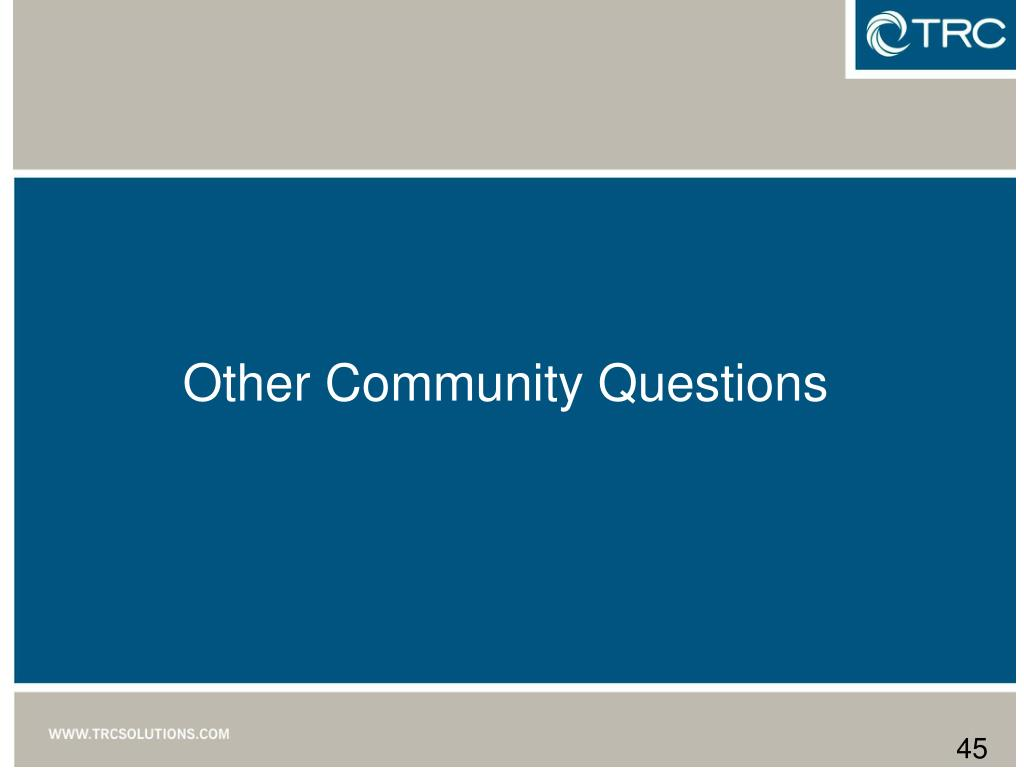 Other Community Questions