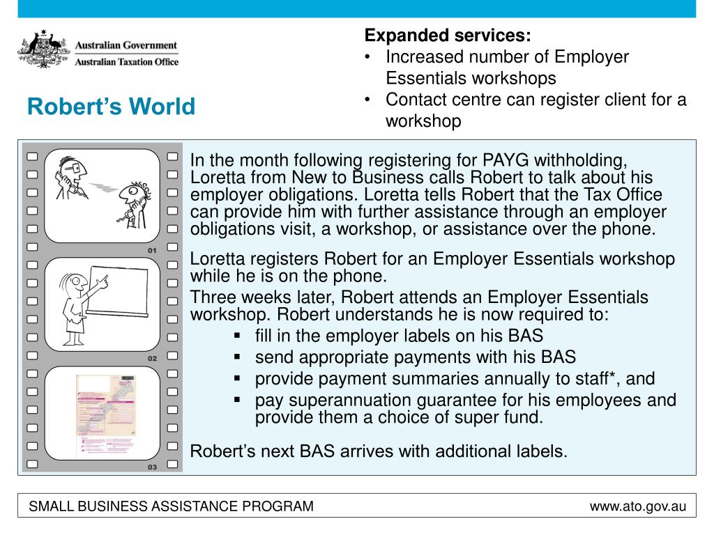 Expanded services: