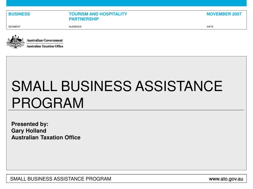 small business assistance program l.