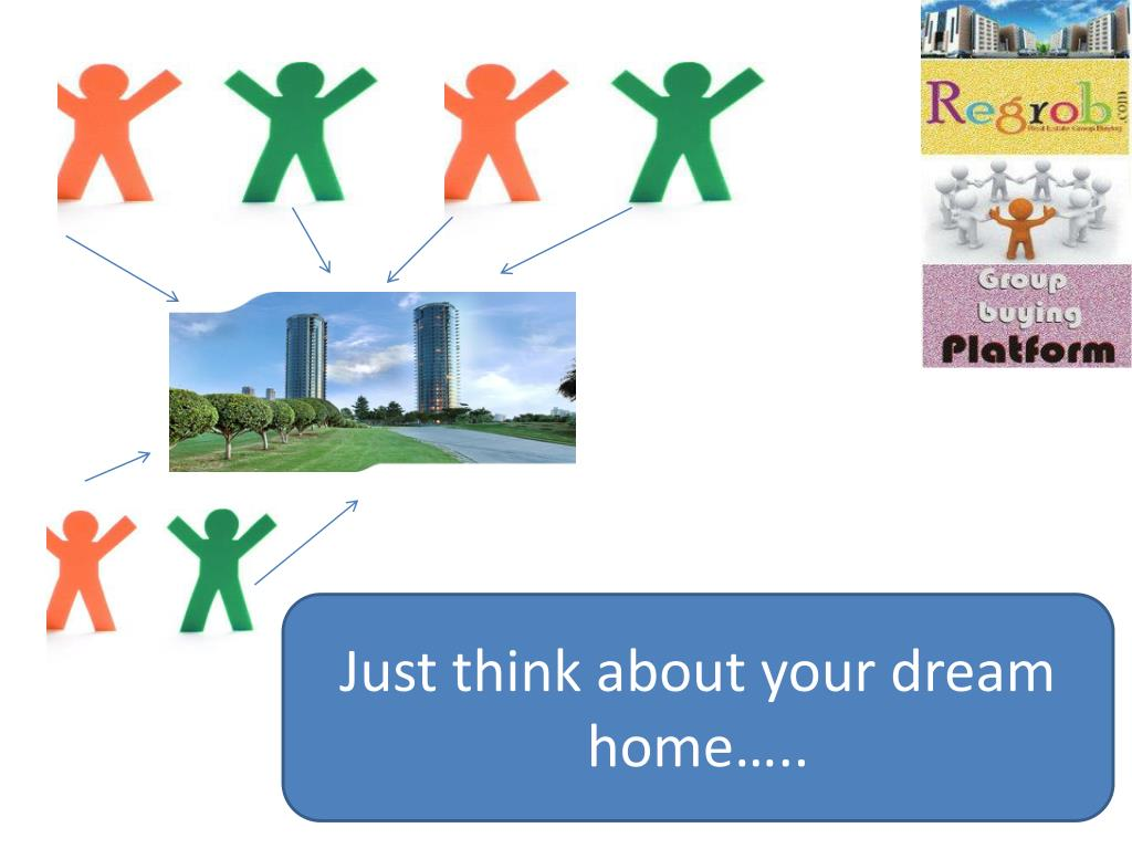 Just think about your dream home…..