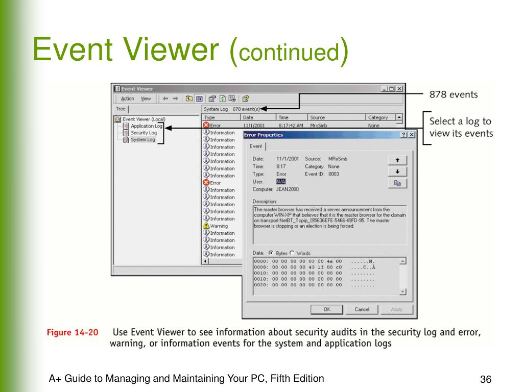 Event Viewer (