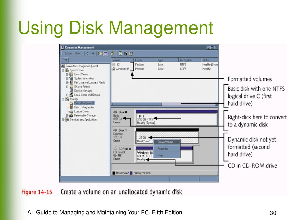 Using Disk Management