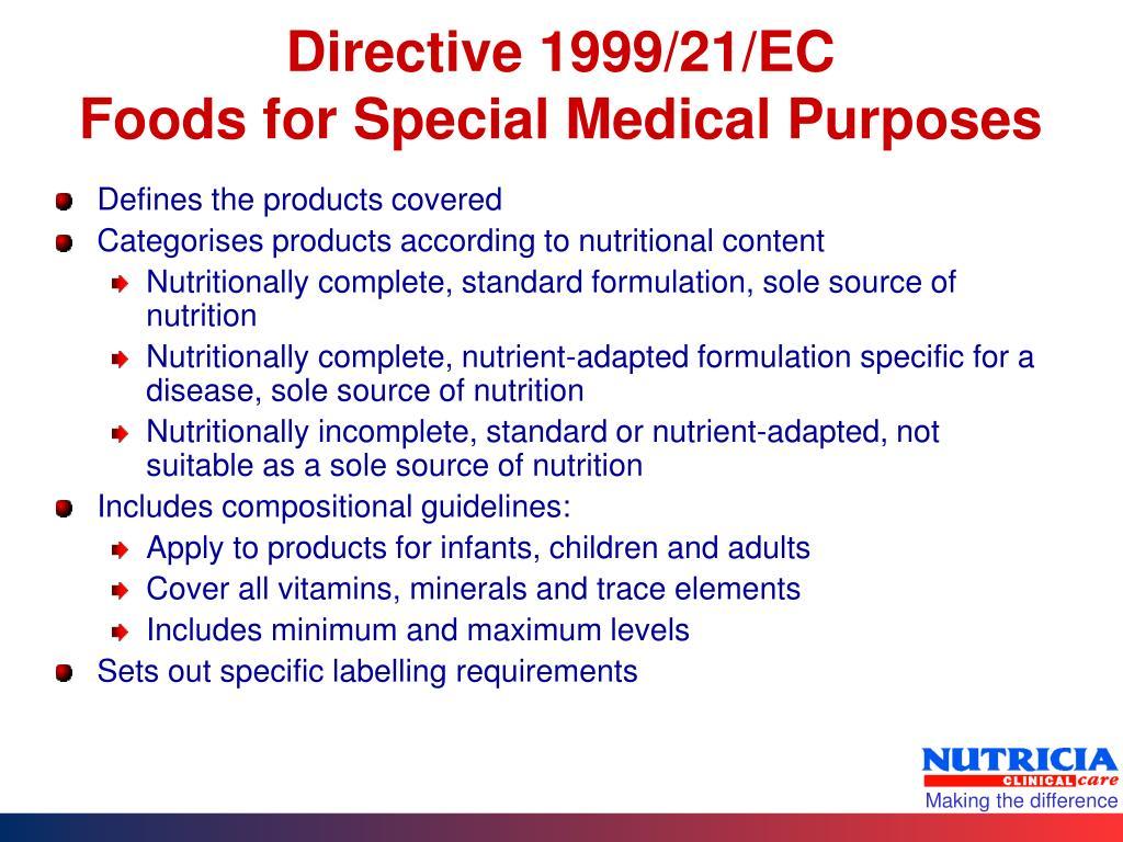 Directive 1999/21/EC