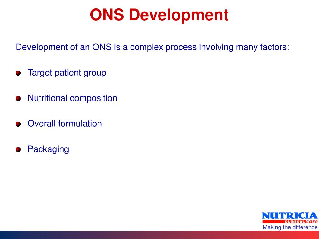 ONS Development
