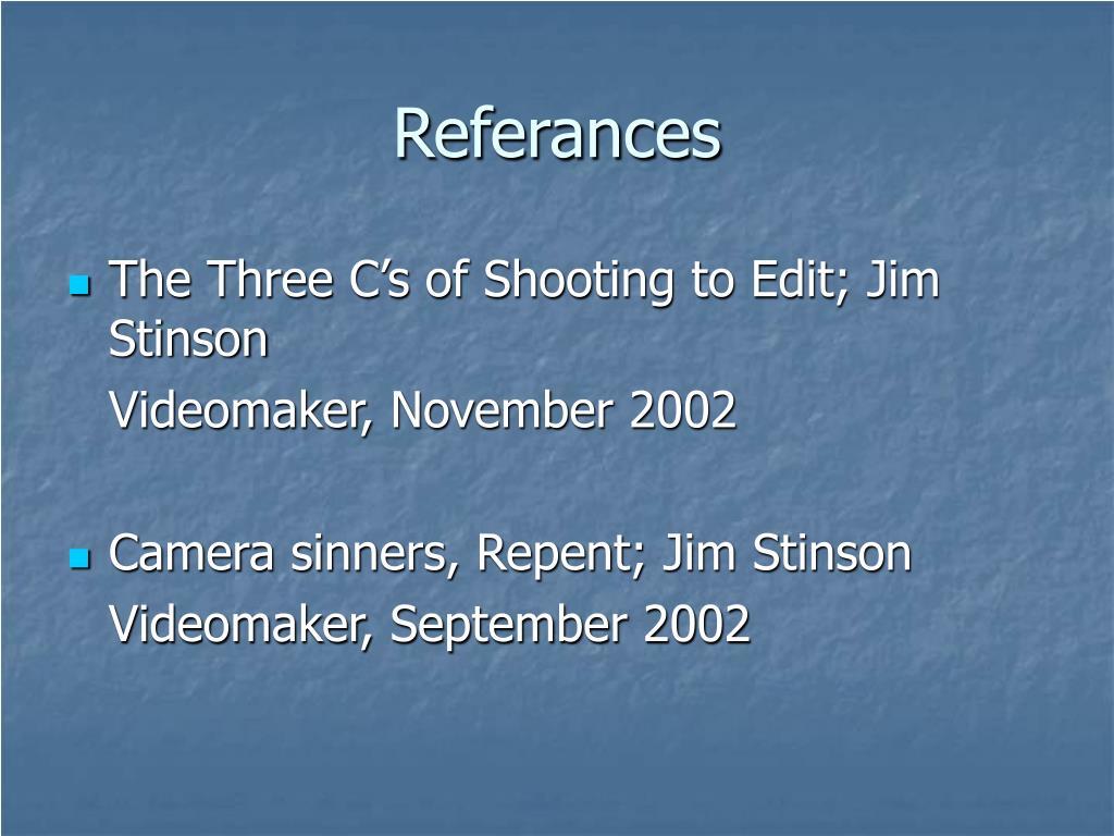 Referances