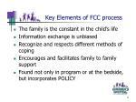 key elements of fcc process