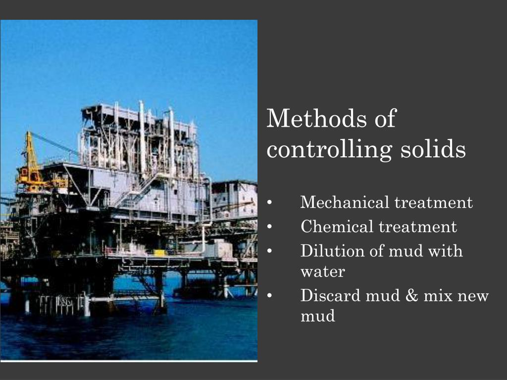 Methods of controlling solids