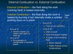 internal combustion vs external combustion