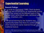 experiential learning35