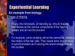 experiential learning38