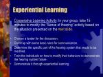 experiential learning41