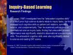 inquiry based learning25