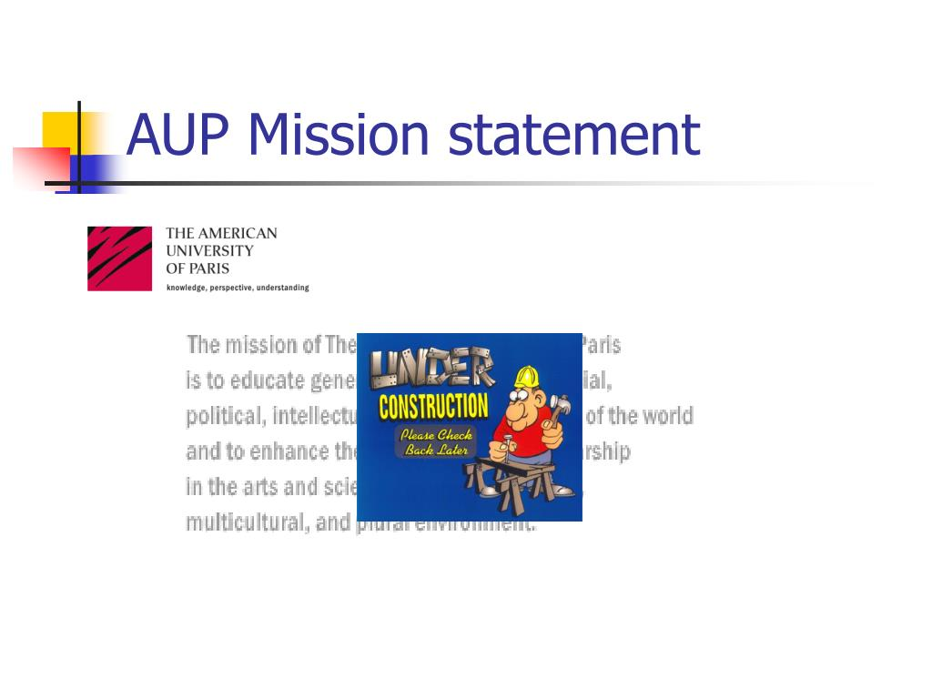 AUP Mission statement