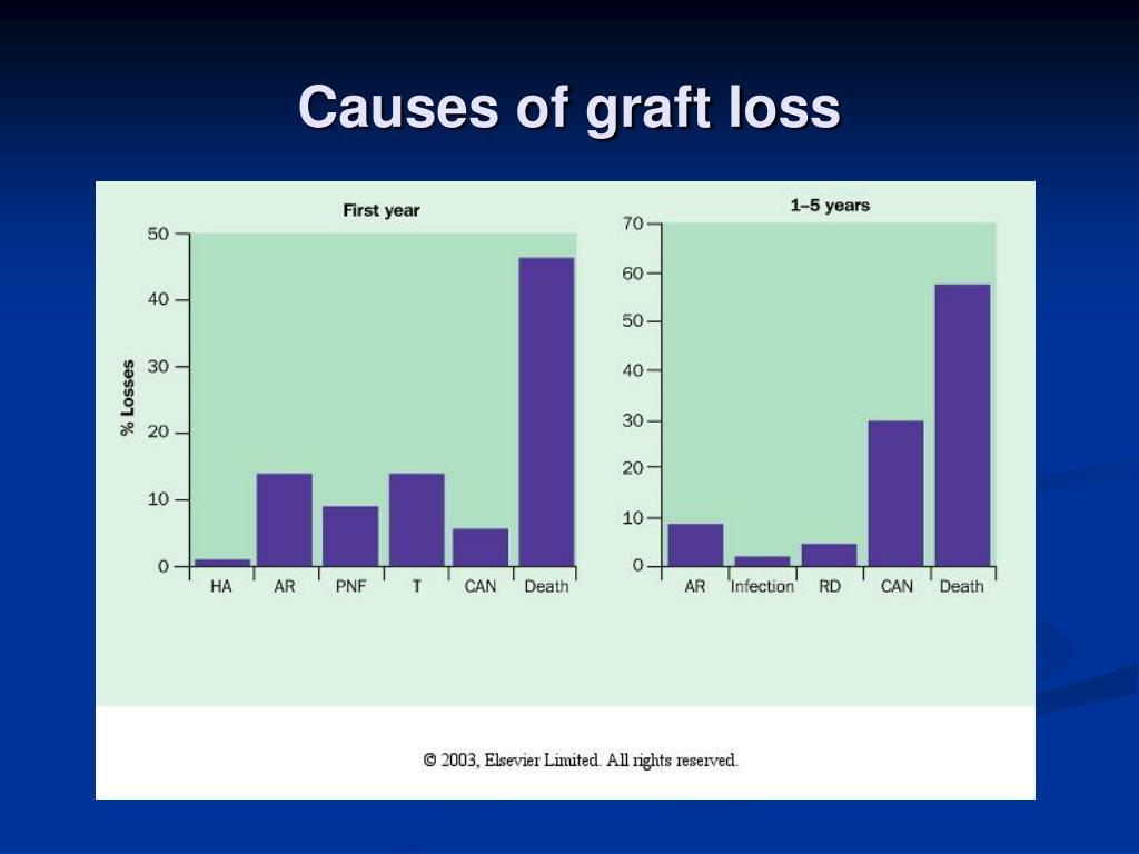 Causes of graft loss