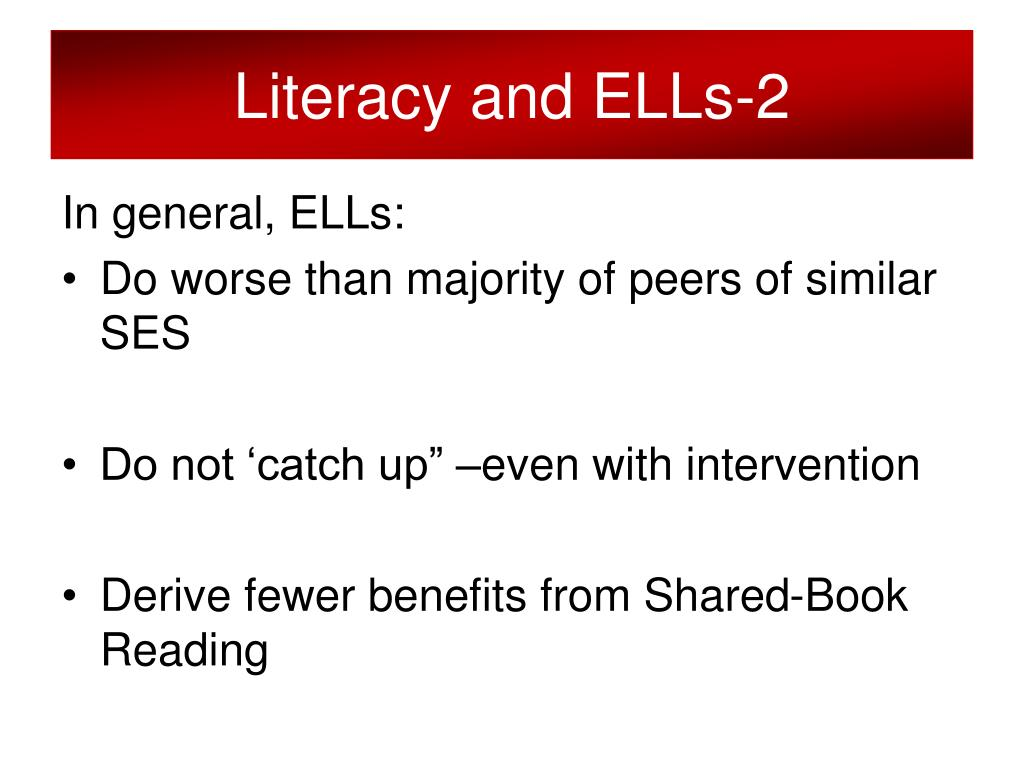 Literacy and ELLs-2