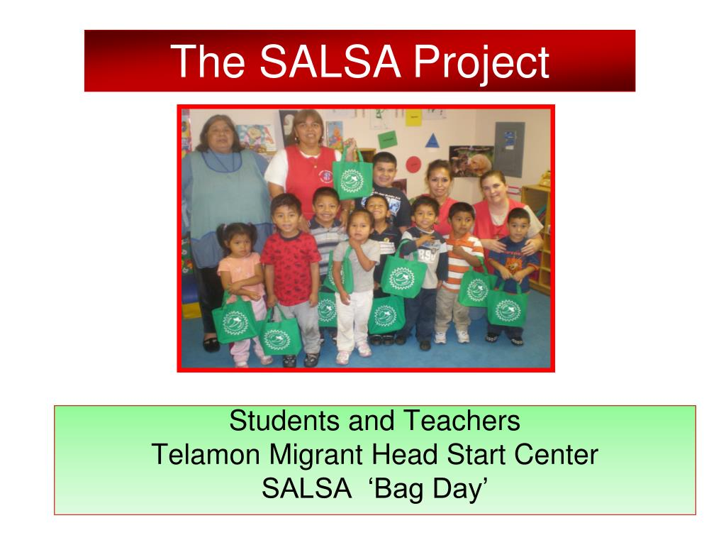 The SALSA Project