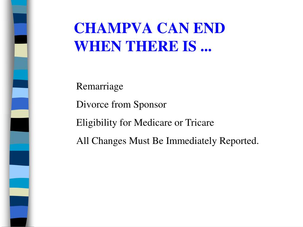CHAMPVA CAN END