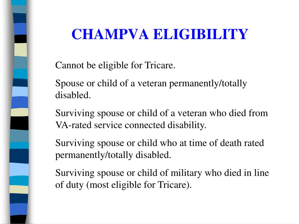 CHAMPVA ELIGIBILITY