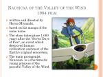 nausica of the valley of the wind 1984 film