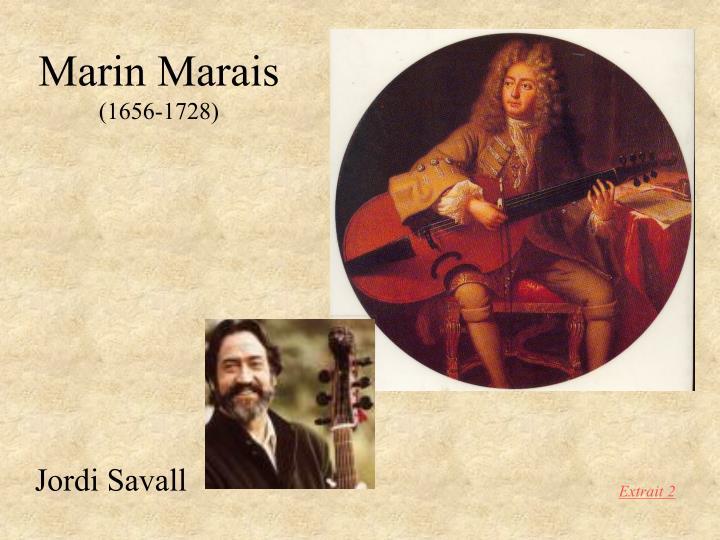 Marin marais 1656 1728