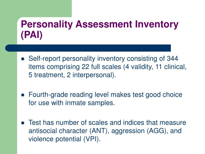 lifestyle assessment inventory Read chapter life-cycle assessment for paper products: the united states produces 25% of the world's wood output, and wood supports a major segment of the.