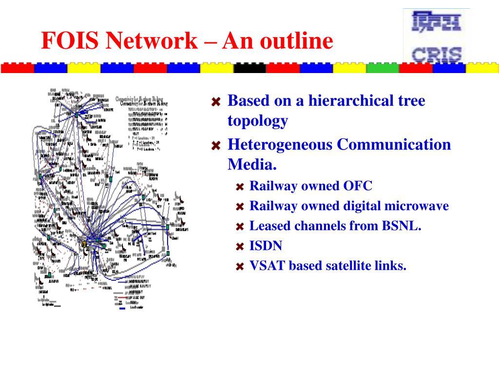 FOIS Network – An outline