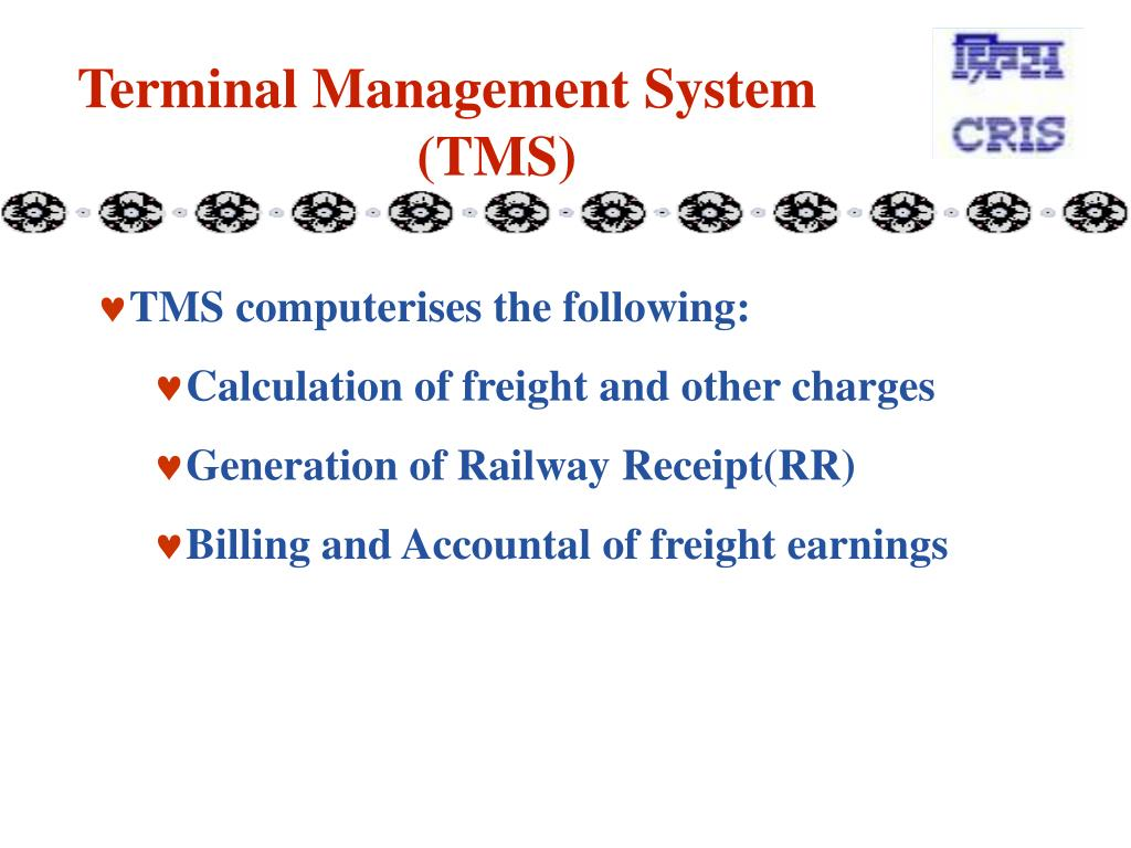 Terminal Management System (TMS)