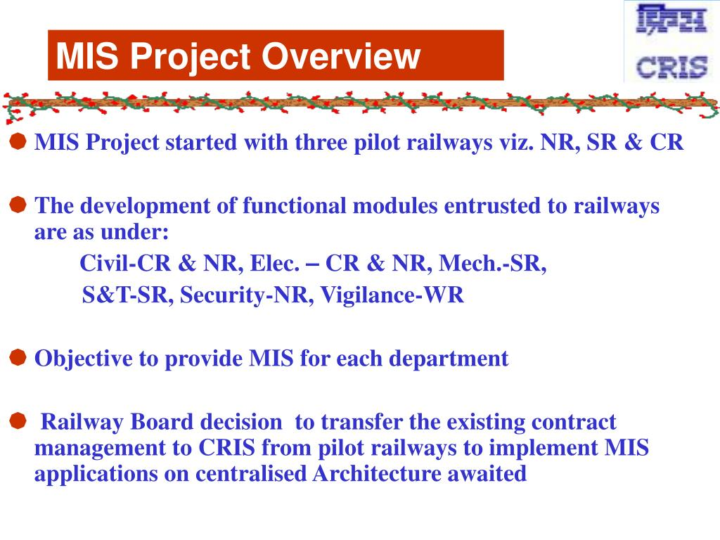 MIS Project Overview