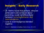 insights early research13