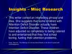 insights misc research32