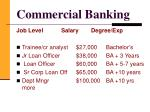 commercial banking9